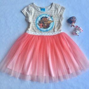 Disney Moana Tutu Dress 3T